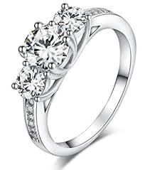 engagement rings london images Sreema london 925 sterling silver brilliant round cut crystals jpg