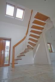 Impressive Spiral Modern Staircase With Acrylic Glass Base Also