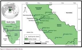 Map Of Northern India by Birds Of Sacred Groves Of Northern Kerala India Jyothi