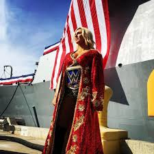 Charlotte Flag Charlotte Is The Queen Wrestle Newz