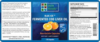 fermented cod liver oil green pasture