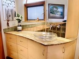 wood bathroom vanities hgtv