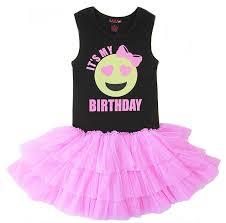 birthday dress girls emoji birthday birthday tween