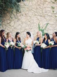 20 amazing navy blue bridesmaid dress ideas weddingomania
