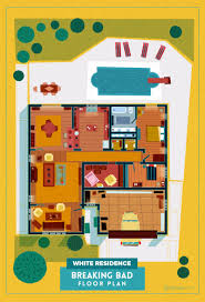 check out the floor plans for the homes of popular tv shows
