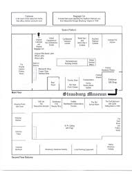 Shop Building Plans by Museum Gift Shop Floor Plan The Strasburg Museum And Gift Shop