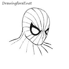 draw spider man u0027s head drawingforall net
