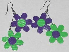 duct earrings duct earrings any style by melstapecreations on etsy 6 50