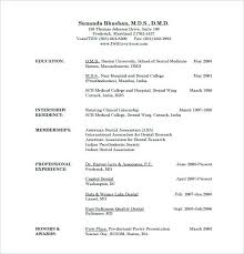 resume pdf template resume pdf template dental doctor resume free template free basic