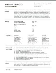 accounting manager resume template free sales executive example