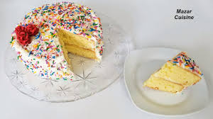 birthday cake recipe easy simple sponge cake recipe birthday