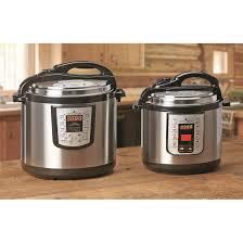 best black friday online deals for pressure cookers castlecreek electric pressure cooker 6 quart 664939 kitchen