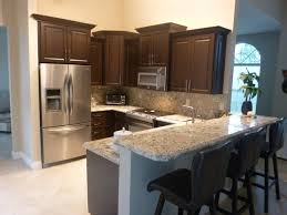 kitchen cabinet miami dark chocolate thermofoil kitchen cabinets kitchen miami by