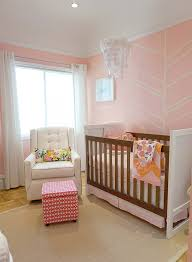 Pink And Orange Bedroom Pink And White Nursery Inspired By This