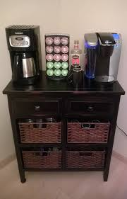 uncategories keurig coffee station microwave and coffee station