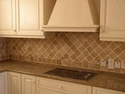 Tumbled Travertine Backsplash Tropical Pool Philadelphia - Travertine tile backsplash
