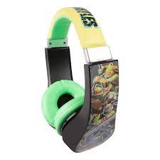 amazon com teenage mutant ninja turtles over the ear headphone