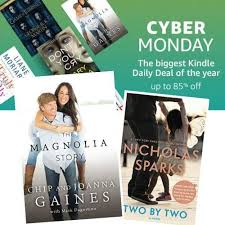 amazon kindle book black friday amazon cyber monday sale on kindle books as low as 99