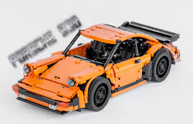 porsche lego set lego porsche 930 1 12 youtube
