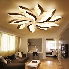 illuminazione a soffitto a led moderno soffitto a led per lo studio da letto