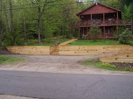 Down To Earth Landscaping by Down To Earth Landscaping Retaining Wall With Steps Down To