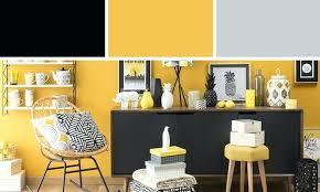 cuisine noir et jaune deco noir et jaune deco cuisine noir et gris 1 d233co salon jaune et