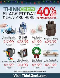 car black friday deals 2017 thinkgeek black friday 2017 ad sales u0026 deals