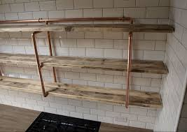 Pipe Shelves Kitchen by Wood Shelves With Pipes Kashiori Com Wooden Sofa Chair Bookshelves