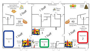 party floor plan corporate events toronto indoor playground birthday party rooms