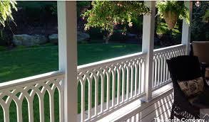 Patio Rails Ideas Front Porch Railing Ideas Materials And More