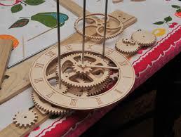 woodwork wood clock making pdf plans home art decor 12260