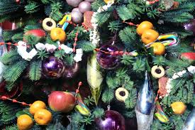 how to decorate a christmas tree with food 10 steps