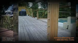 Decking Handrail Ideas Trex Decking Beautiful Deck Railing Ideas Youtube