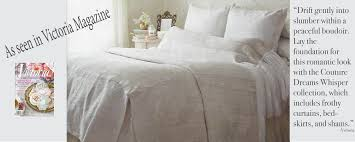 chic home linens couture dreams