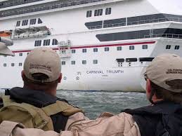cbp processes cruise ship passengers at sea u s customs and