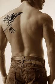 awesome shoulder blade tattoos for men