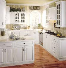 Backsplash With White Kitchen Cabinets White Brick Backsplash Tile Bulb Light Decoration White Granite