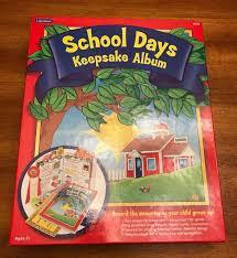 school days keepsake album lakeshore school days keepsake album preserve your memories nib
