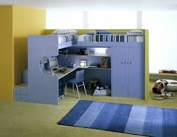 play desk for bunk bed with desk underneath kids loft bed with study desk and play