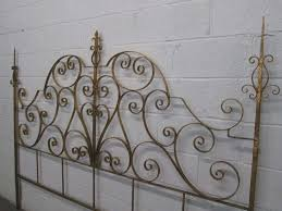 gorgeous king size metal headboard obc waterford 5ft kingsize