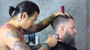 daniel alfonso hair salon la hairstyle manbun 2016 daniel alfonso tv haircut 2016 youtube