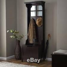 Antique Entryway Bench Coat Rack Hall Tree With Bench Storage Antique Coat Rack Stand Mirror