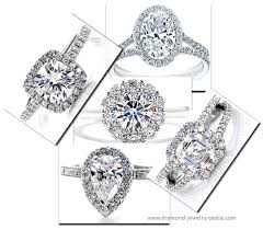 different engagement rings stylish different rings halo setting engagement ring