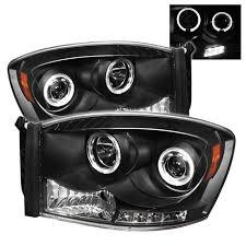 2008 dodge ram 1500 led fog lights dodge ram 1500 06 08 ram 2500 3500 06 09 projector headlights