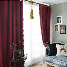Wine Colored Curtains Buy Made To Measure Curtains For Blackout In Burgundy Color