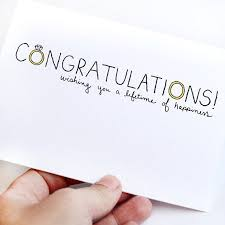 congrats on wedding card wedding card congratulations wishes for engagement