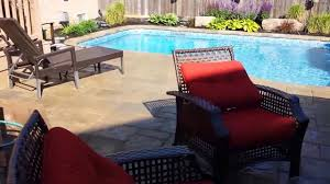 Swimming Pools Backyard by In Ground Swimming Pool And Backyard Makeover Youtube