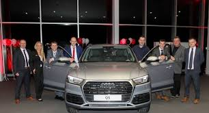 wexford audi slylish q5 launched at audi wexford wexfordpeople ie