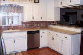 Paint Colours For Kitchens With White Cabinets White Kitchen Cabinets With Black Countertops Four Wooden Dining