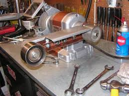 Old Bench Grinder Diy Belt Grinder Attachment For Your Bench Grinder The H A M B